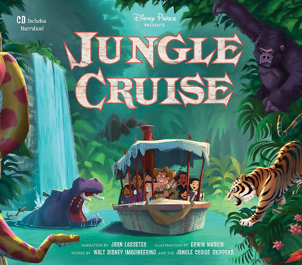 Super Punch: New Jungle Cruise illustrated book narrated by John ...