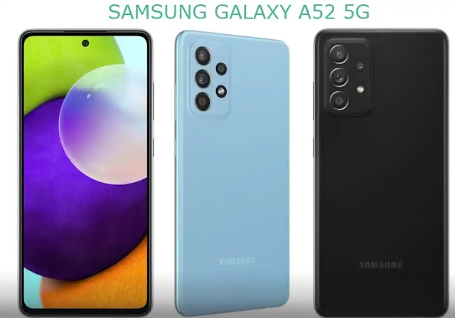 SAMSUNG GALAXY A52 5G SPECIFICATIONS (2021)