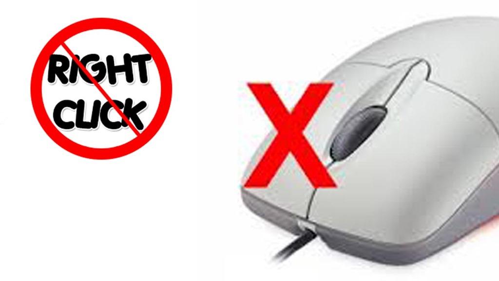 Chống Copy và chống Chuột Phải để bảo vệ nội dung website