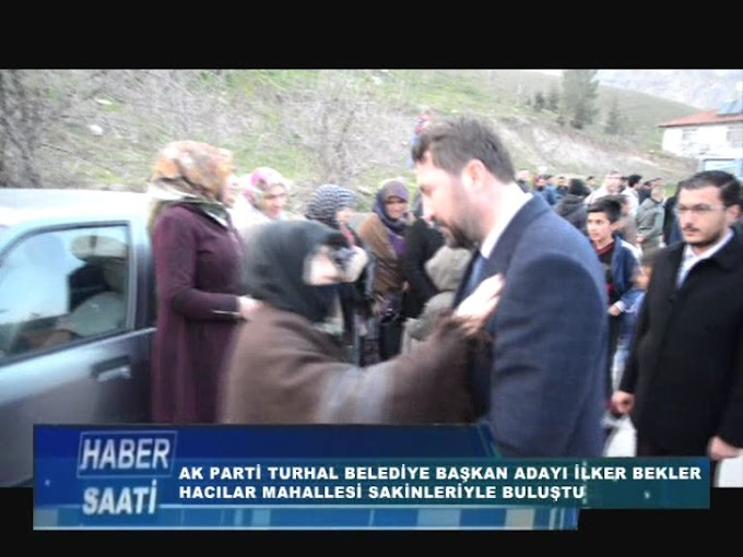 AK PARTİ TURHAL BELEDİYE BAŞKAN ADAYI İLKER BEKLER....