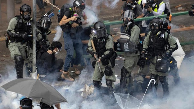 Az amerikai képviselőház is megszavazta a hongkongi tiltakozókat támogató törvényjavaslatot