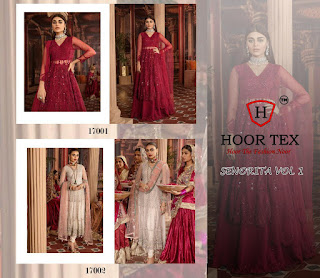 Hoor Tex Senorita Vol 1 Pakistani Suits Collection