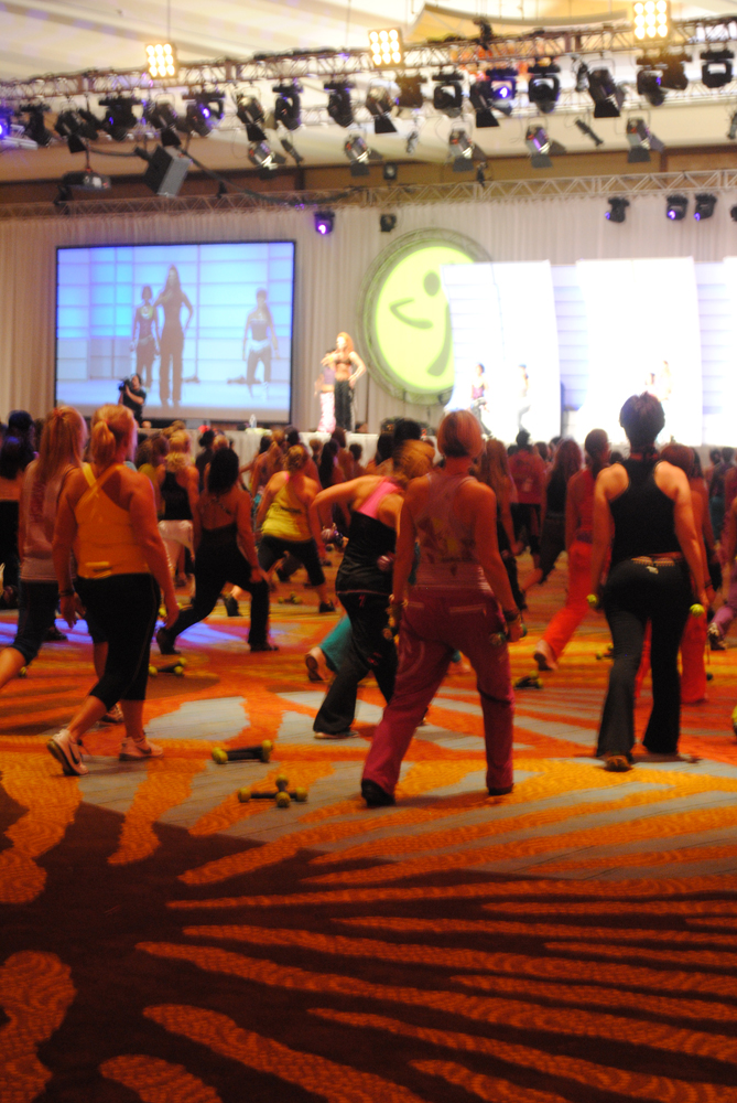 Zumba Convention 2011 | Tone it Live! -