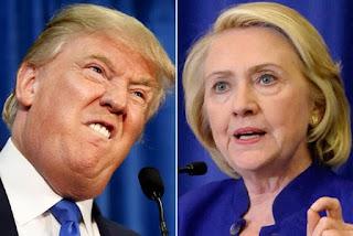 Hilary Clinto Akoresha Iturufu y'Igitsina-Trump