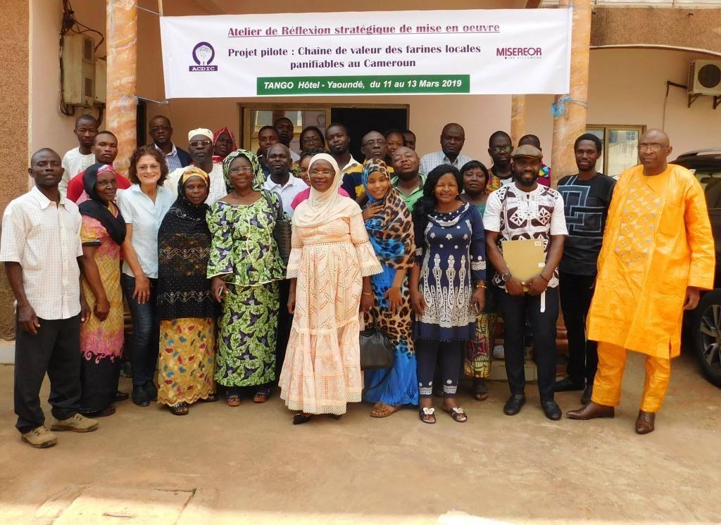 Atelier : Chaîne de valeur des farines locales panifiables au Cameroun