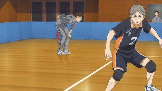 ハイキュー!! アニメ 3期8話 菅原孝支   Karasuno vs Shiratorizawa   HAIKYU!! Season3