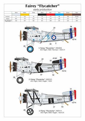 Fairey Flycatcher Decals picture 1