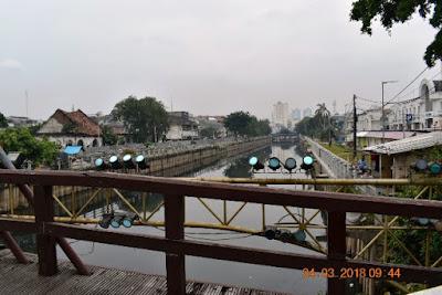 sisi jembatan kota intan