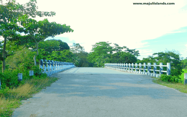 Samaguri Bridge Of Majuli Island