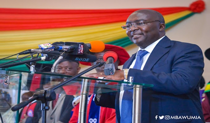 On-Duty Police To Bear Weapons, Other Protective Gear - Vice President Bawumia