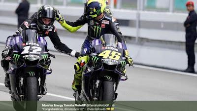 Dua Rider Yamaha lainnya Yakni, Valentino Rossi dan Fabio Quartararo di Kejuaraan MotoGP