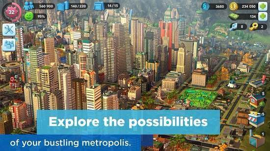 Simcity Buildit MOD APK Unlimited Coins Downloa