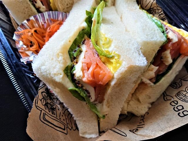 街弁 イタリアンレストラン オリベート サンドイッチ