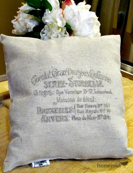 Transfer Methods & Cute Little Pillows