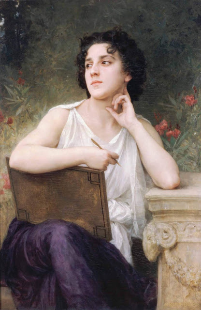 Адольф Вильям Бугро - Вдохновение (1898)