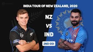 India vs NZ 2nd ODI 2020 live score