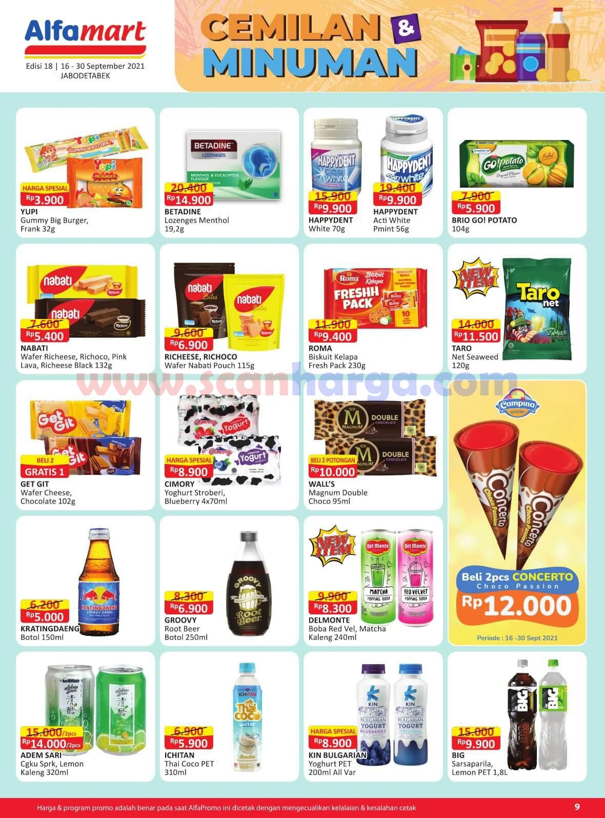 Katalog Promo Alfamart 16 - 30 September 2021 9
