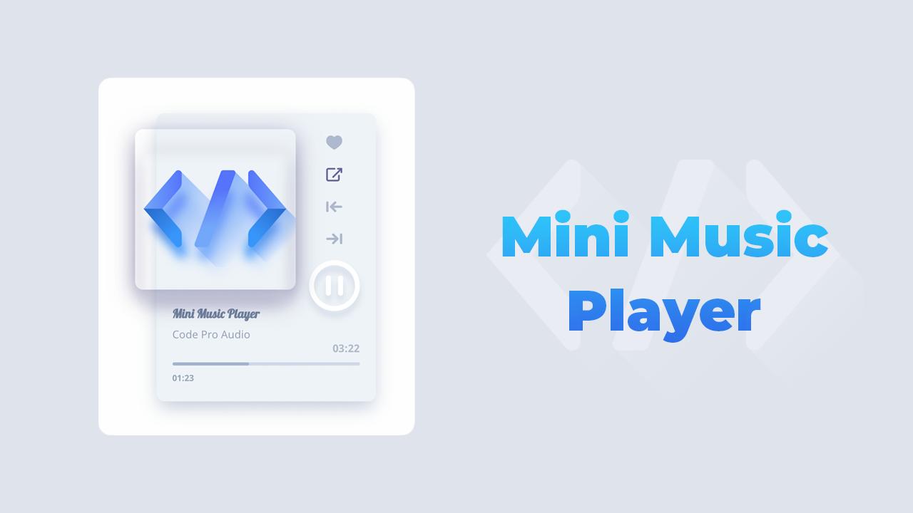 Share code mini music player