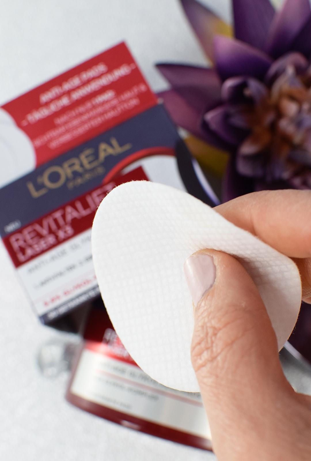 L'Oréal Revitalift Laser X3 Pads Review, Ergebnis
