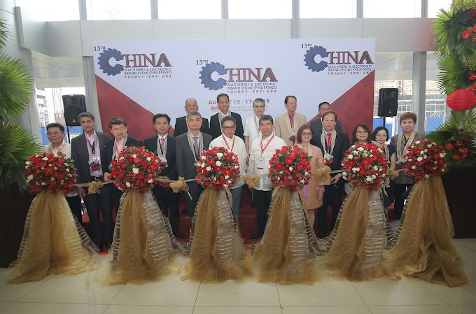 Global-Link Opens Mega Back-to-Back Events on Systems Integration, Electrical &  Energy and China Machinery at SMX Convention Center MOA