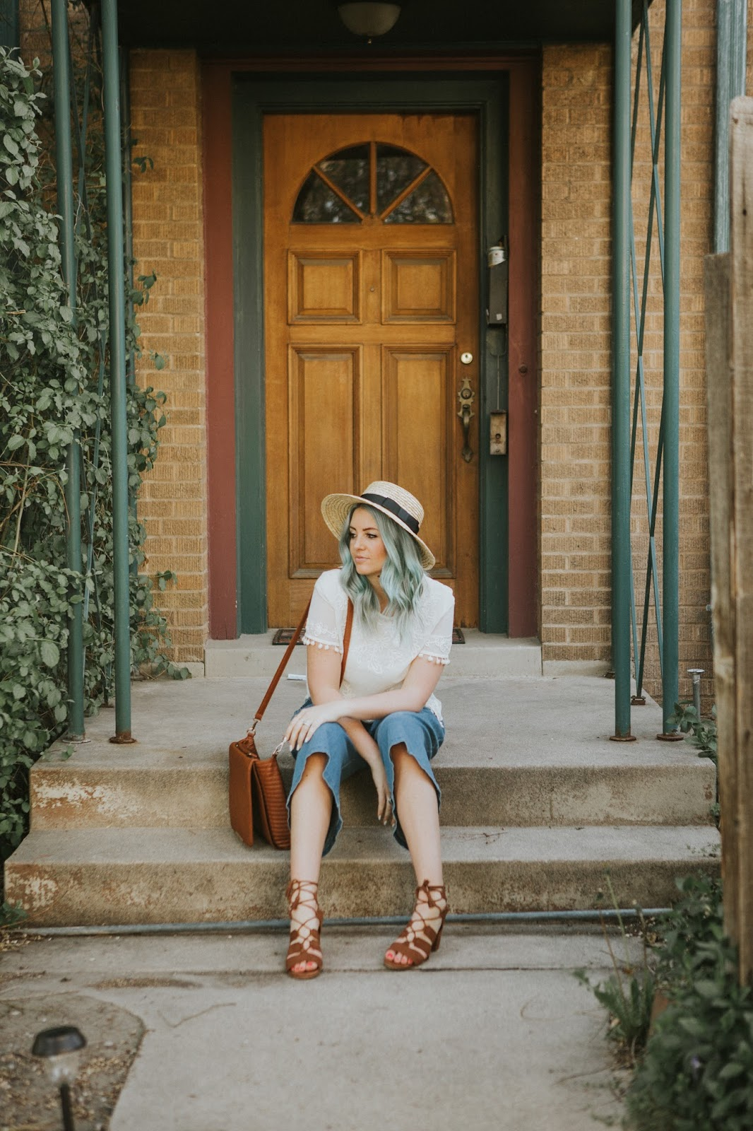 Lace Up Sandals, Utah Fashion Blogger, Spring Outfit