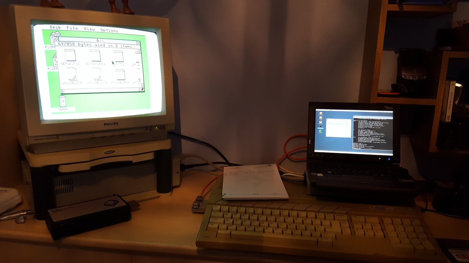 Tony is a Geek: 30year old Atari ST gets dusted off
