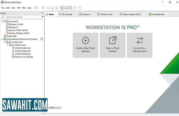 شرح وتنزيل برنامج VMware Workstation Pro 2020 عمل النظام الوهمي مع السريال