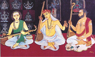 carnatic music - What is the difference between North and South India?