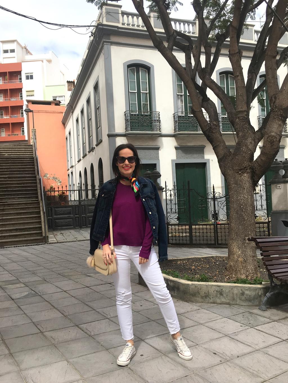 jersey-zara-pañuelo-colores-look-calzado-plano