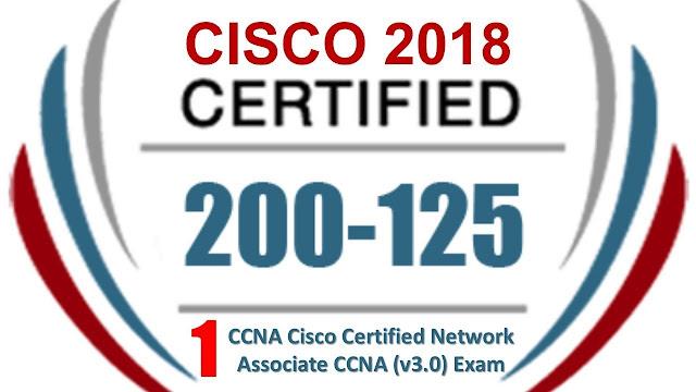 200-125 Cisco Certified Network Associate (CCNA) Exam