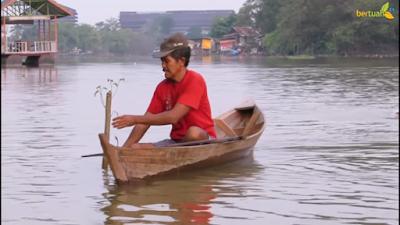 Kehidupan Nelayan Tepi Sungai Siak Pekanbaru