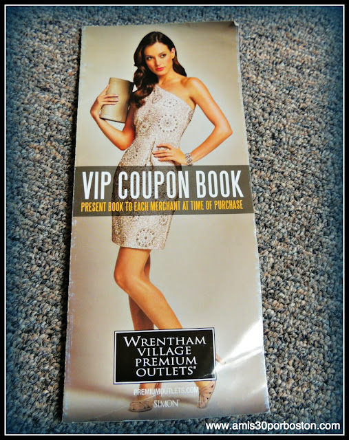 Wrentham Village Premium Outlets VIP Coupon Book