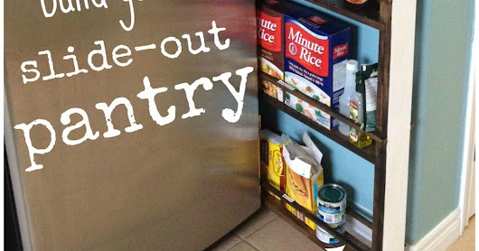 Build your own slide-out pantry