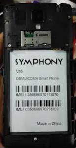 Symphony V85 Flash File