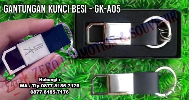 Souvenir Gantungan Kunci Stainless / Besi - GK-A05, Souvenir Gantungan Kunci Besi, Gantungan kunci Logam