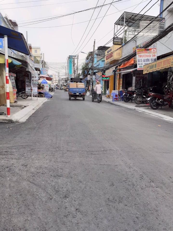 Bán nhà hẻm 23 Đường số 3 phường Bình Hưng Hòa A quận Bình Tân. Dt 4,5x14m
