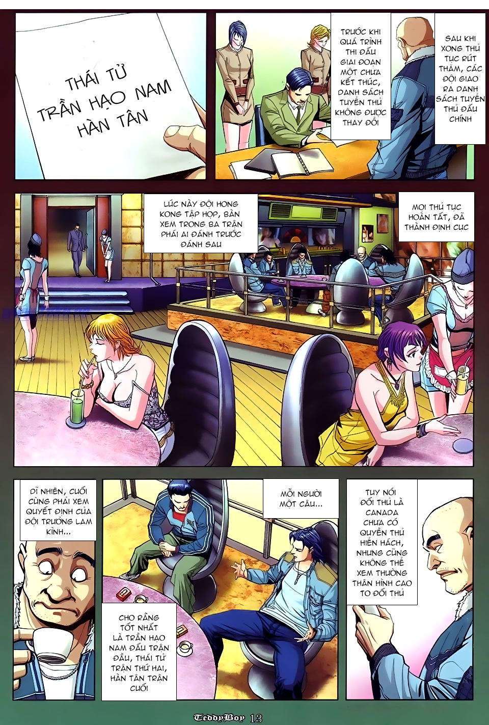Người Trong Giang Hồ Chap 871 - Truyen.Chap.VN