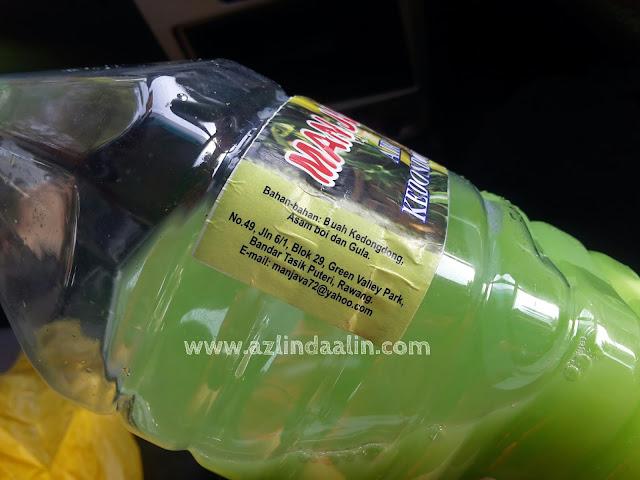 Basahkan Tekak Dengan Man Java Air Kedondong Asam Boi Yang Sejuk Pada Musim Panas