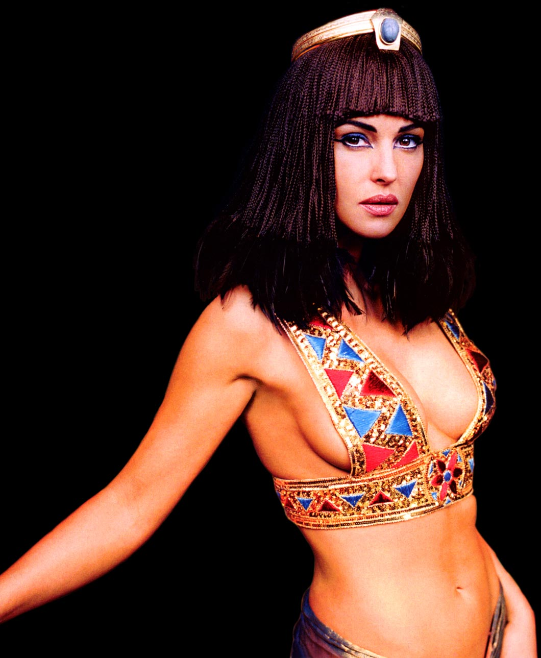 Celebrities, Movies and Games: Monica Bellucci as