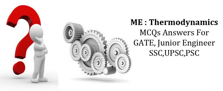 mechanical Engineering MCQs Thermodynamics