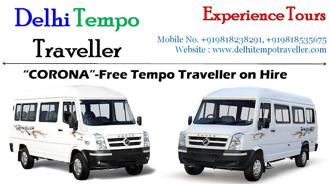 Tempo Traveller Hire - A Safe and Comfy Way of Travel