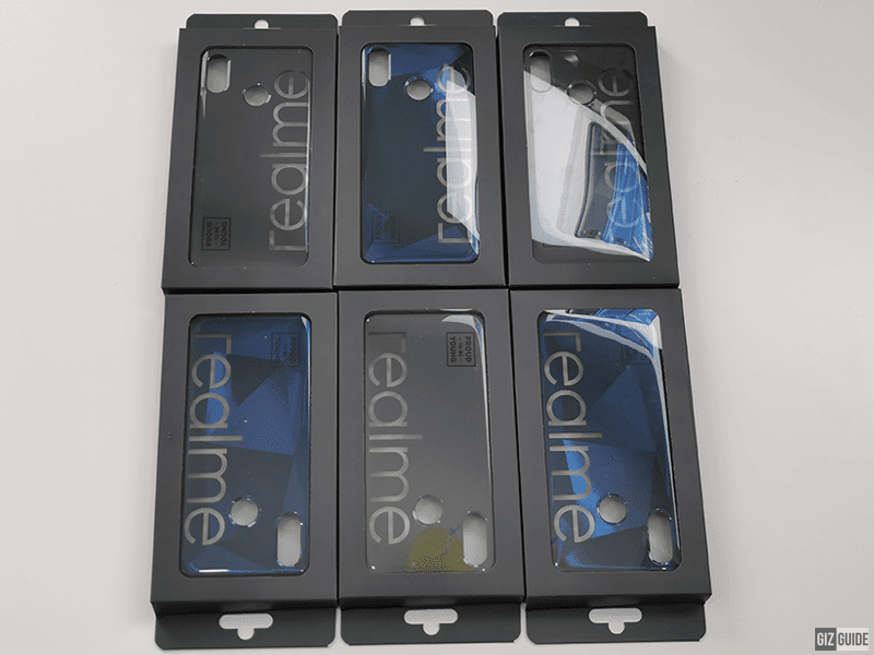 Reame iconic cases for realme 3