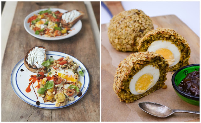popped eggs and scotch eggs