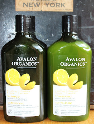 Avalon Organics Clarifying Lemon Shampoo & Conditioner