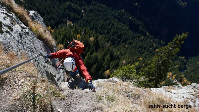 Klettersteig Meran : Sehn sucht berge heini holzer klettersteig ifingerspitzen
