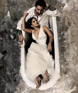 Sunny Leone in bathtub with Daniel Weber