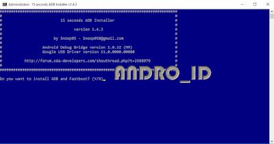 Download Adb dan Fastboot Driver Windows