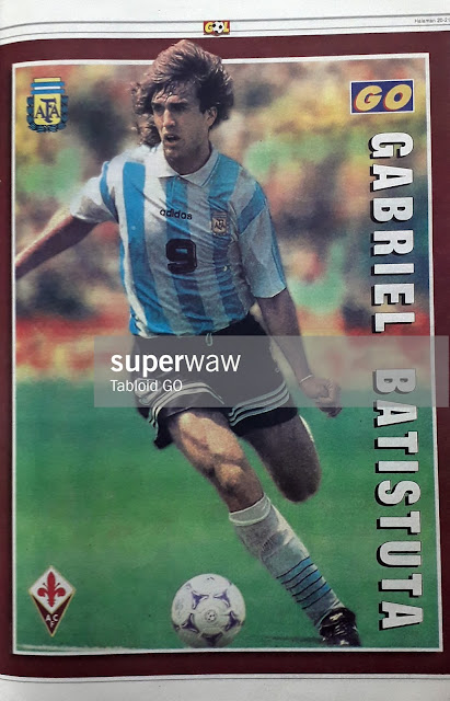 GABRIEL BATISTUTA ARGENTINA 1997