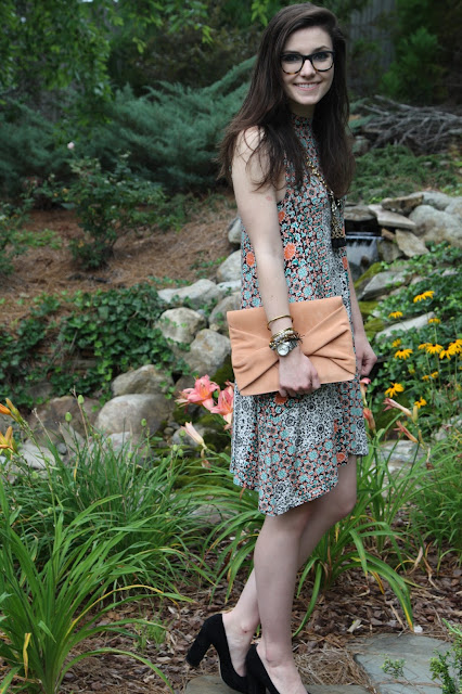 2017, summer, how to wear, sundress, jewelry, clutch, OOTD, dress it up