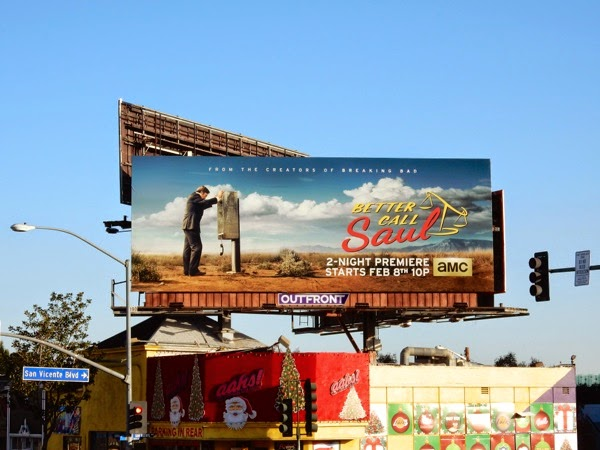 Better Call Saul season 1 billboard